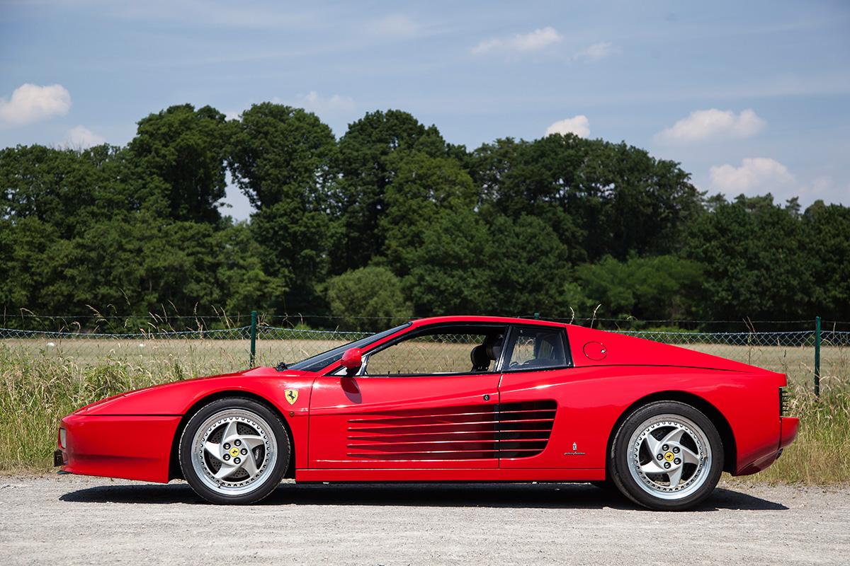 1991 Ferrari Testarossa 1991 FERRARI TESTAROSSA 2 DOOR